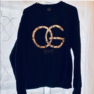 Obey Crew Neck Sweatshirt
